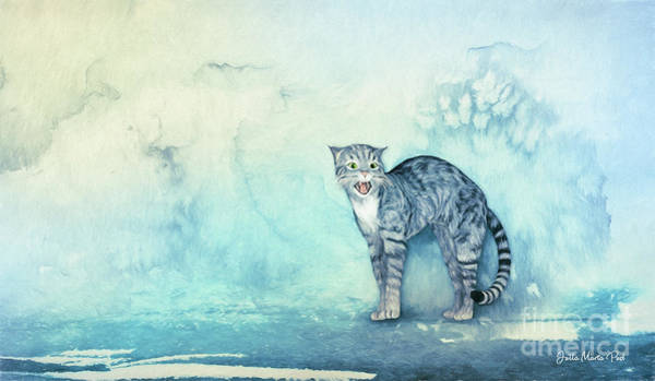 Wall Art - Digital Art - Do Not Come Closer by Jutta Maria Pusl