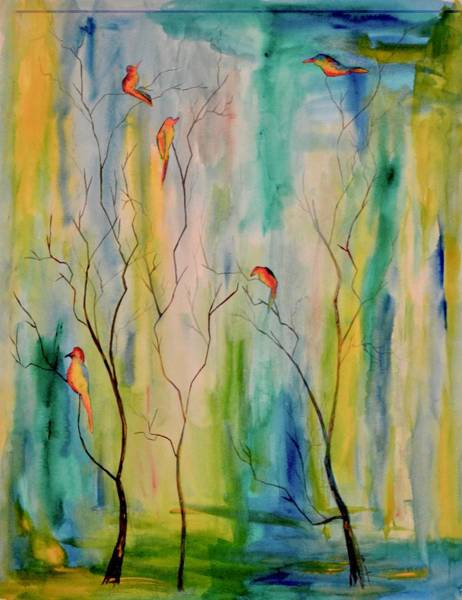Painting - Do Not Look Outside Yourself by Beverley Harper Tinsley