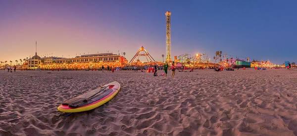 Photograph - Do We Have To Go Home - Santa Cruz Beach by Scott Campbell