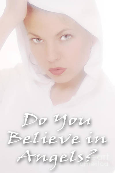 Photograph - Do You Believe In Angels by Clayton Bruster