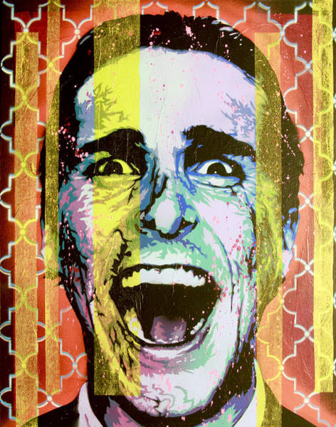 David Choe Wall Art - Painting - Do You Like Huey Lewis And The News? Alternate by Bobby Zeik