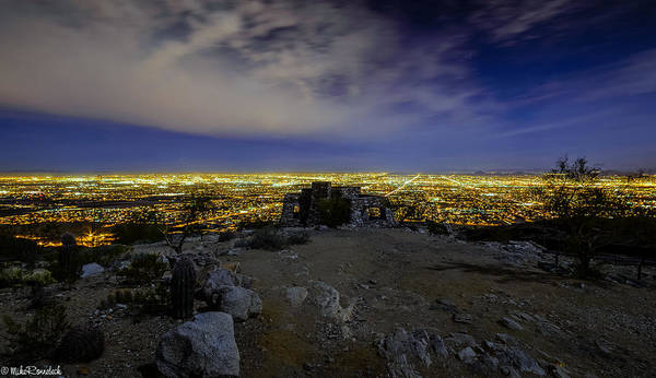 Photograph - Dobbins Point II by Mike Ronnebeck