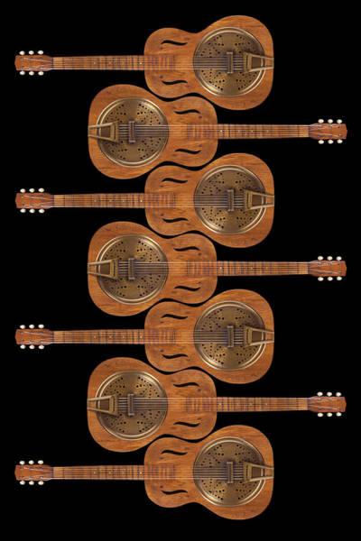 Guitar Neck Photograph - Dobro 3 by Mike McGlothlen