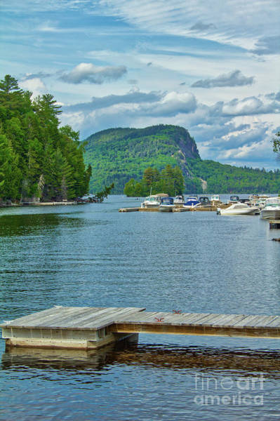Somerset County Photograph - Dock And Kineo View by John Kenealy