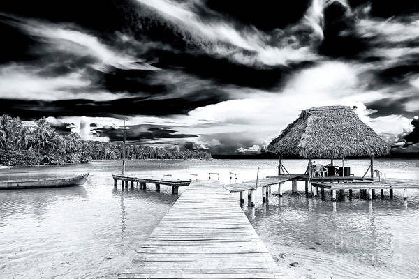 Photograph - Dock At Bocas Del Drago Panama by John Rizzuto