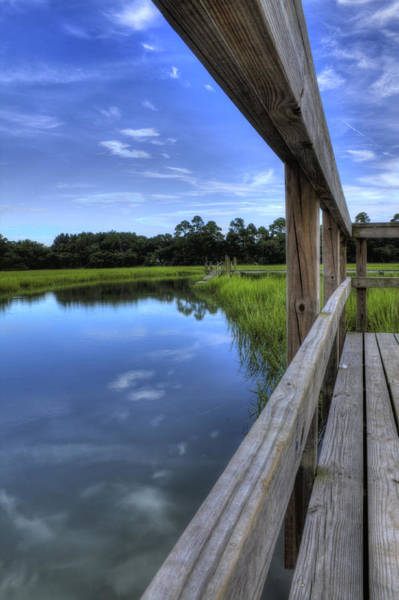 Lowcountry South Carolina Photograph - Dock Lines by Dustin K Ryan