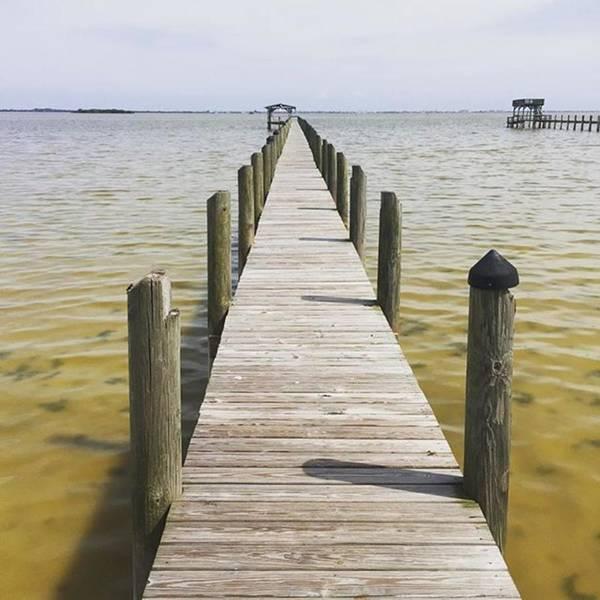 Photograph - Dock On Banana River#merrittisland by Melissa Abbott