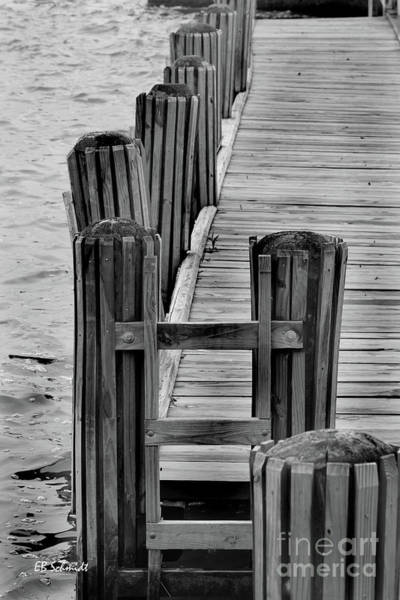 Photograph - Dock On The Potomac by E B Schmidt