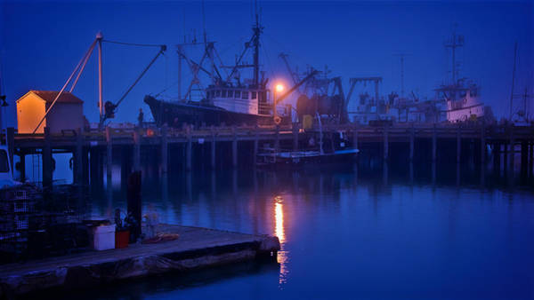 Photograph - Dock Side With Irenes Way, Morro Bay, California by Flying Z Photography by Zayne Diamond