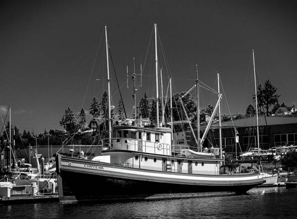 Photograph - Docked Fishing Boat by Jason Brooks