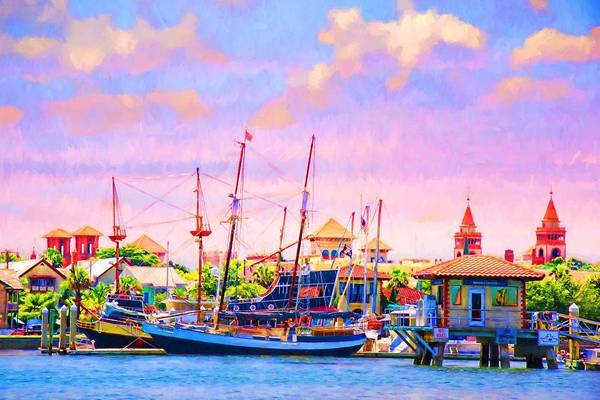 Photograph - Docked In St Augustine by Alice Gipson