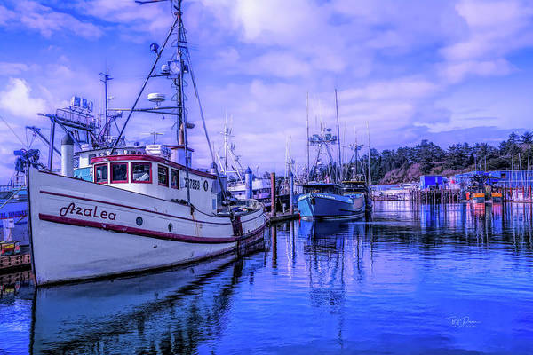 Photograph - Docked In The Bay by Bill Posner