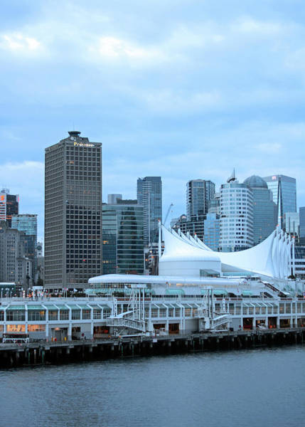 Photograph - Docking At Dawn In Vancouver by Connie Fox