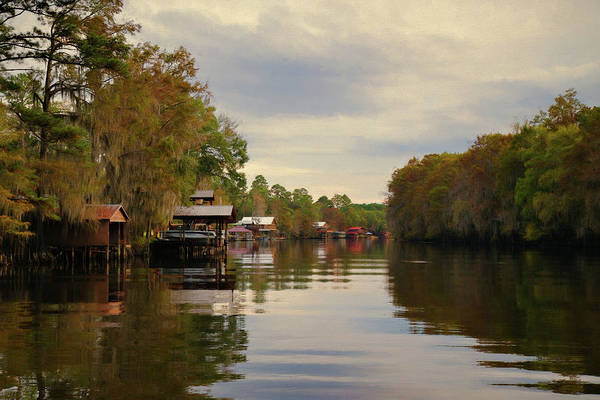 Wall Art - Photograph - Docks On The Bayou by Lana Trussell