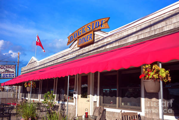 Photograph - Dockside Diner Long Beach Island by John Rizzuto
