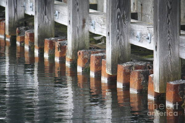 Photograph - Dockside by Toon De Zwart