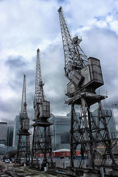 Logistics Photograph - Dockyard by Martin Newman
