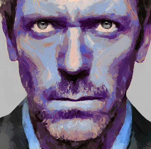 Country House Digital Art - Doctor Gregory House 1 by Yury Malkov