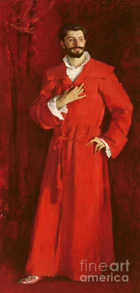Wall Art - Painting - Doctor Pozzi At Home, 1881 by John Singer Sargent