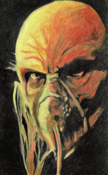 Murderer Painting - Doctor Satan by Zapista Zapista