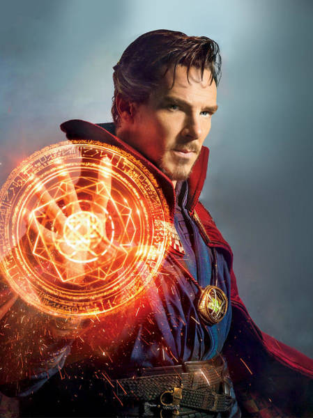 Wall Art - Digital Art - Doctor Strange by Geek N Rock