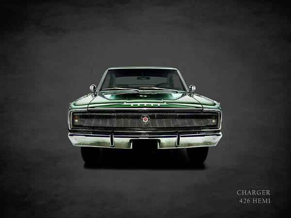 426 Photograph - Dodge Charger 426 Hemi by Mark Rogan