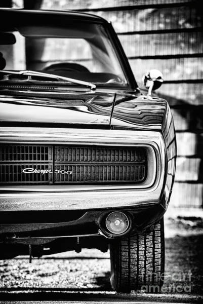 Photograph - Dodge Charger 500 by Tim Gainey