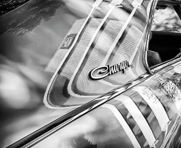 Photograph - Dodge Charger Reflections by Theresa Tahara