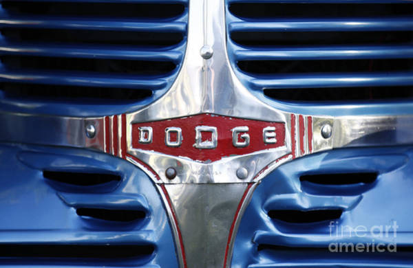 Photograph - 46 Dodge Chrome Grill by Richard Lynch