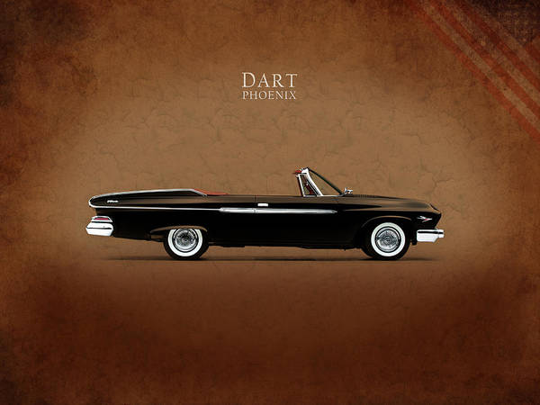 Hemi Photograph - Dodge Dart D 500 by Mark Rogan