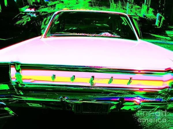 Photograph - Dodge Dart by Jenny Revitz Soper