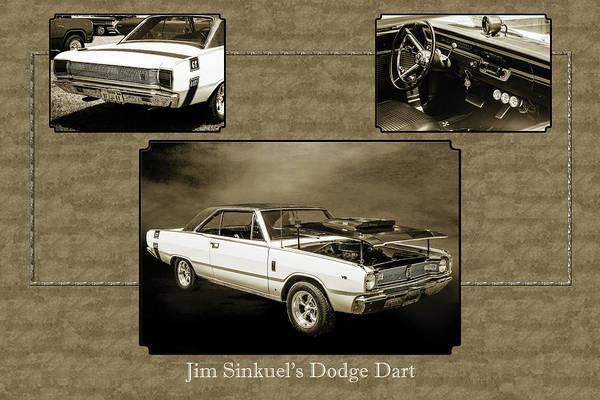 Digital Art - Dodge Dart Photographic Print 5533,01 by M K Miller
