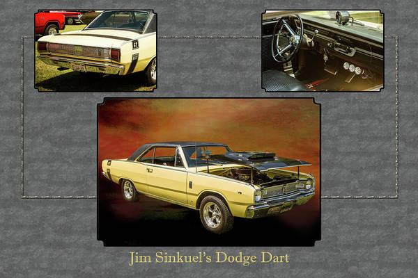Photograph - Dodge Dart Photographic Print 5533,10 by M K Miller