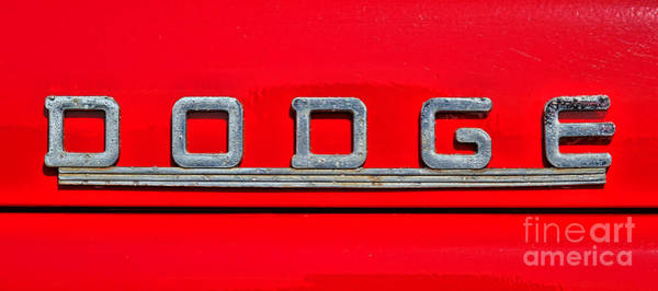 Wall Art - Photograph - Dodge by Olivier Le Queinec