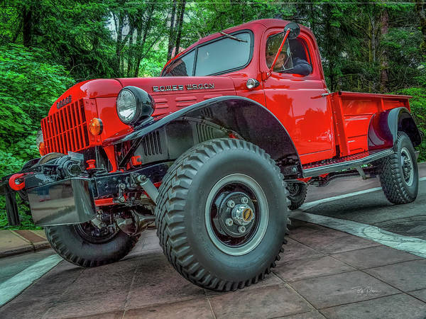 Photograph - Dodge Power Wagon by Bill Posner