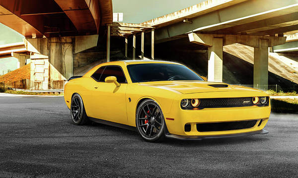 Photograph - Dodge S R T Hellcat by Movie Poster Prints