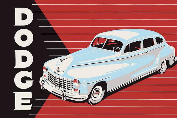 Wall Art - Photograph - Dodge Showroom Poster by Mark Rogan