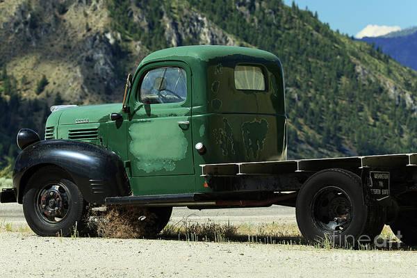 Wall Art - Photograph - Dodge Truck by Rick Mann