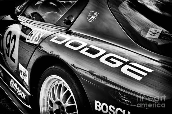 Street Racer Photograph - Dodge Viper Gts R by Tim Gainey