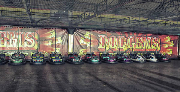 Wall Art - Photograph - Dodgems by Martin Newman