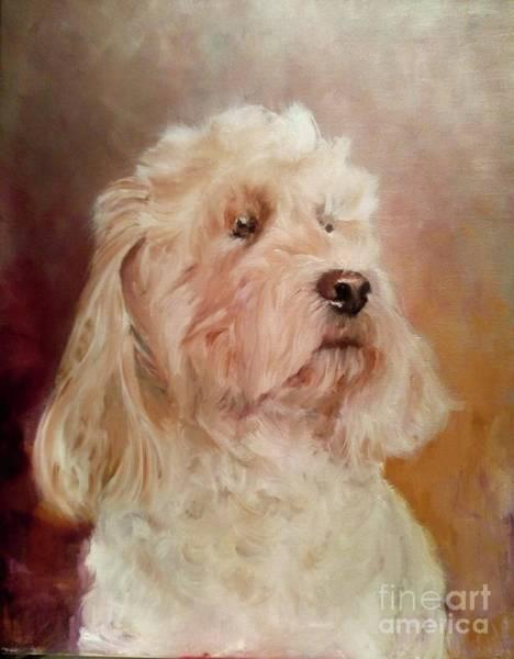 Wall Art - Painting - Dog Portrait by Julie Bond