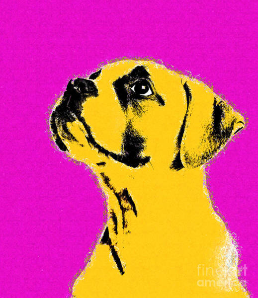Wall Art - Digital Art - Dog Thing - 01c25a9 by Variance Collections