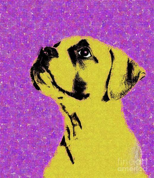 Wall Art - Digital Art - Dog Thing by Variance Collections