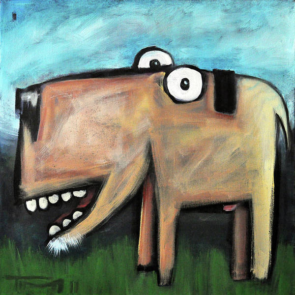 Painting - dog by Tim Nyberg