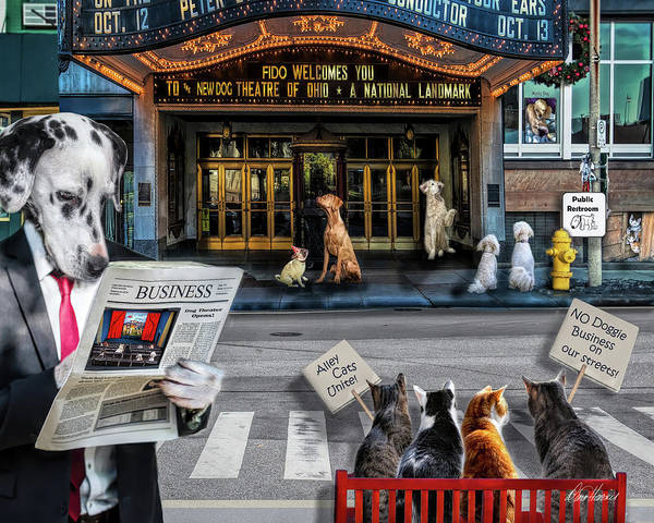 Photograph - Doggie Business by Diana Haronis
