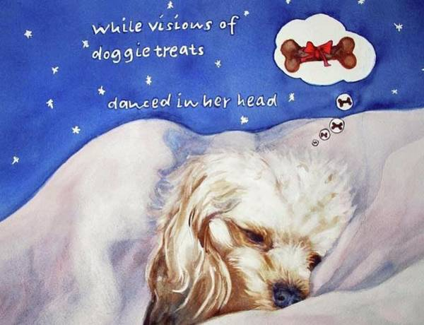 Painting - Doggie Dreams by Diane Fujimoto