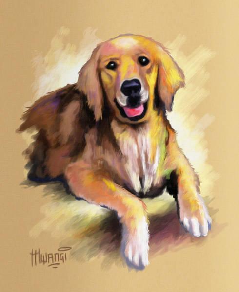 Uganda Painting - Doggy Woggy by Anthony Mwangi