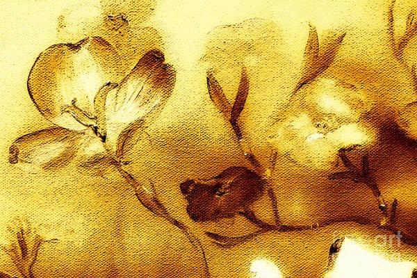 Painting - Dogwood - Sunlit by Jan Dappen