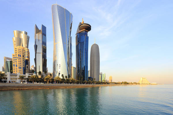 Photograph - Doha Bay Towers by Paul Cowan