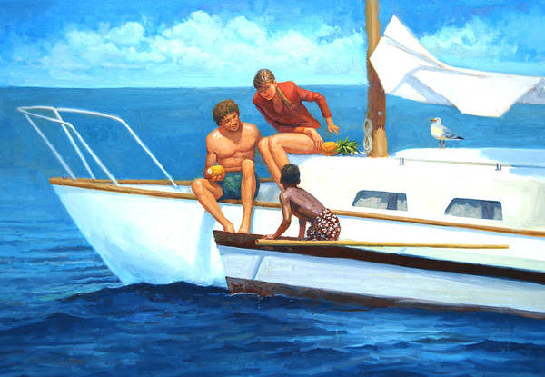 Painting - Doing Business by Mel Greifinger